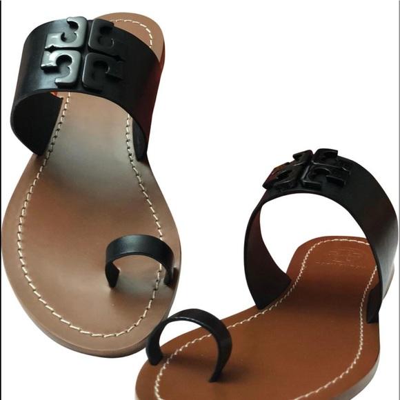 c443e94ddd6a Tory Burch The Lowell Flat Slide Sandals
